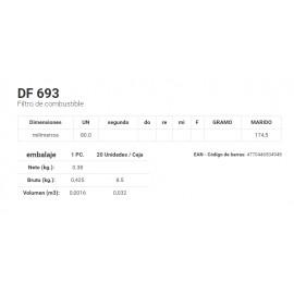 DF 693 Filtro de combustible