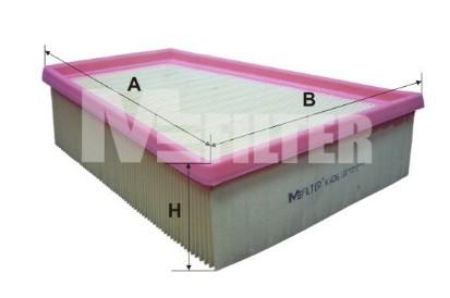 mfilter K495/filtro de aire
