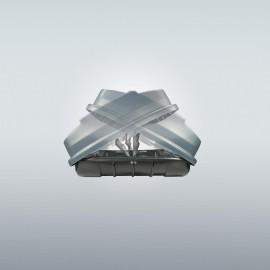 Squalo 600 gris portaequipajes cofres techo
