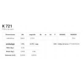 K 721 Filtro de aire