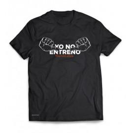 Camiseta Yo no entreno