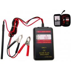 Analizador digital de calentadores 12V