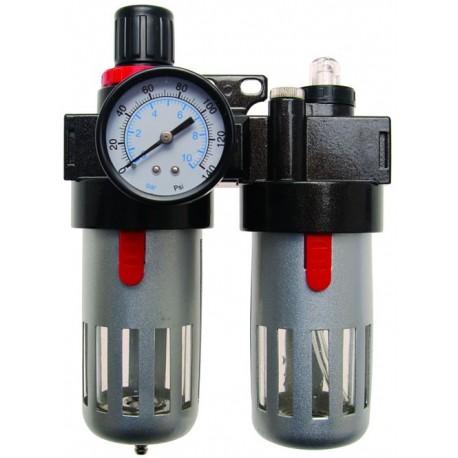 Filtro lubricador de aire con regulador de presi n - Regulador de presion ...