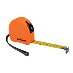 Flexómetro contorneado de color fosforito