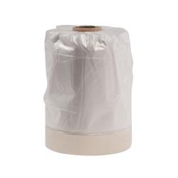Plástico protector de recambio con cinta de pintor